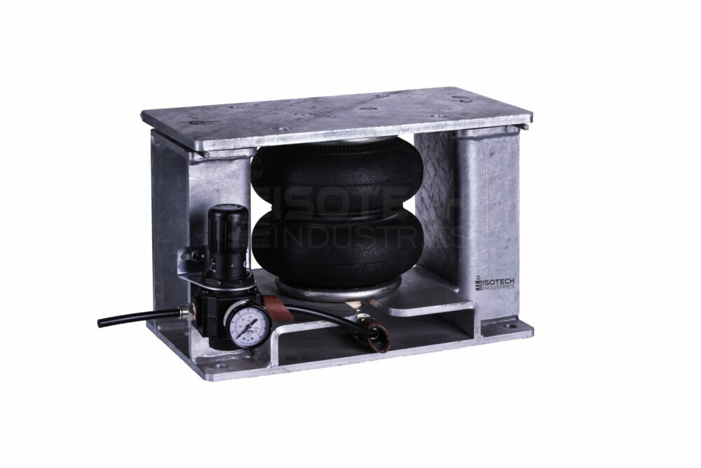Seismically/Wind Rated Air Spring Mount